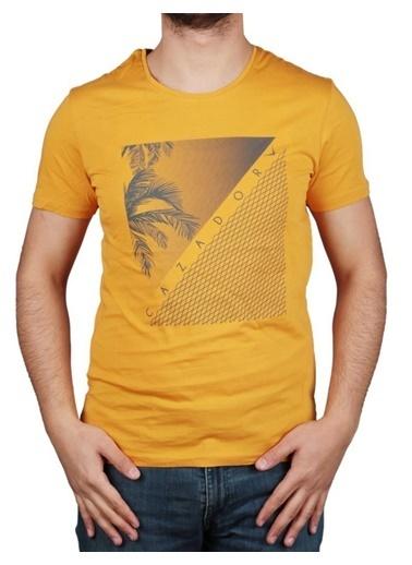 Cazador Tişört Sarı